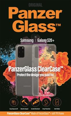 Mynd af PanzerGlass ClearCase S20+ Hulstur Glært G985