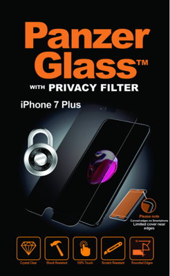 Mynd af PanzerGlass iPhone 6/6S/7/8 Plus PRIVACY