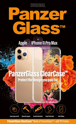 Mynd af PanzerGlass ClearCase Hulstur iPhone 11 Pro Max