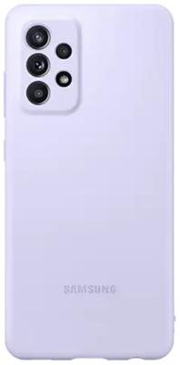 Mynd af Samsung A52 Silicone Cover Fjólublátt A525