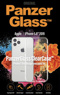 Mynd af PanzerGlass ClearCase Hulstur iPhone 11 Pro