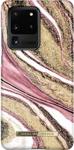 Mynd af iDeal S20 Ultra Cosmic Pink Swirl Fashion Case