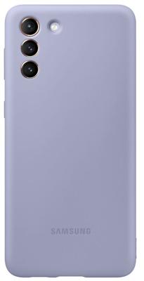 Mynd af Samsung S21+ Silicone Cover Fjólublátt G996