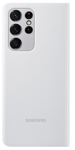 Mynd af Samsung S21 Ultra Smart Clear View Cover Ljósgrátt G998