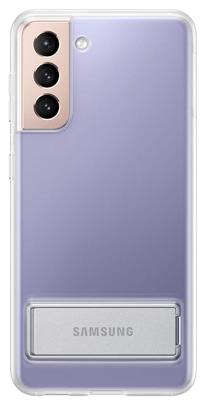 Mynd af Samsung S21 Clear Standing Cover Glært G991