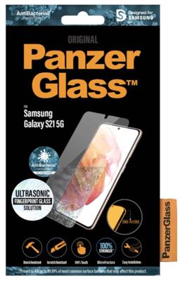 Mynd af PanzerGlass Samsung S21 Ultrasonic Fingrafara Töskuvænt G991